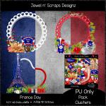 Clusters Frame - France Day