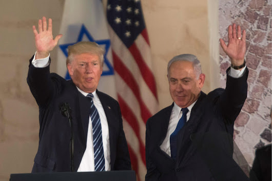 Donald Trump cancels his speech to the Israeli Parliament because he did not want to be heckled