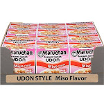 Maruchan Instant Lunch Udon Style Miso, 2.25 Ounce (12 Pack)