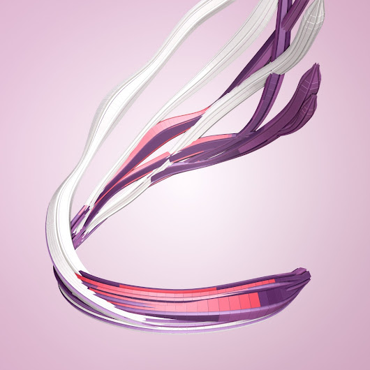 variable // Nike FuelBand // data driven art and generative design