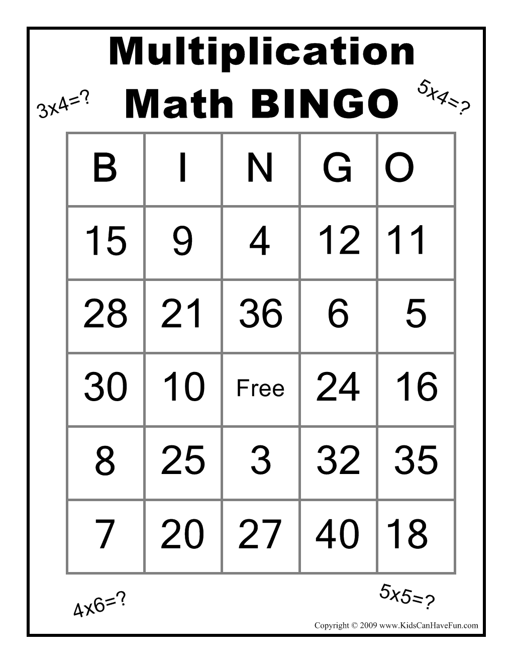 1000+ images about Multiplication on Pinterest   Multiplication ...
