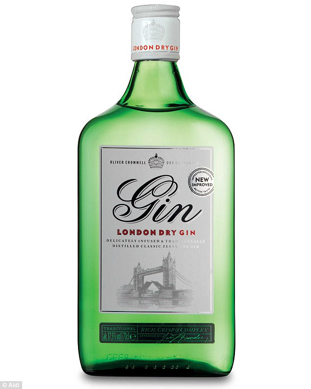 This gin by Aldi costs just £9.97 and is the cheapest British gin to win a gold medal at the IWSC