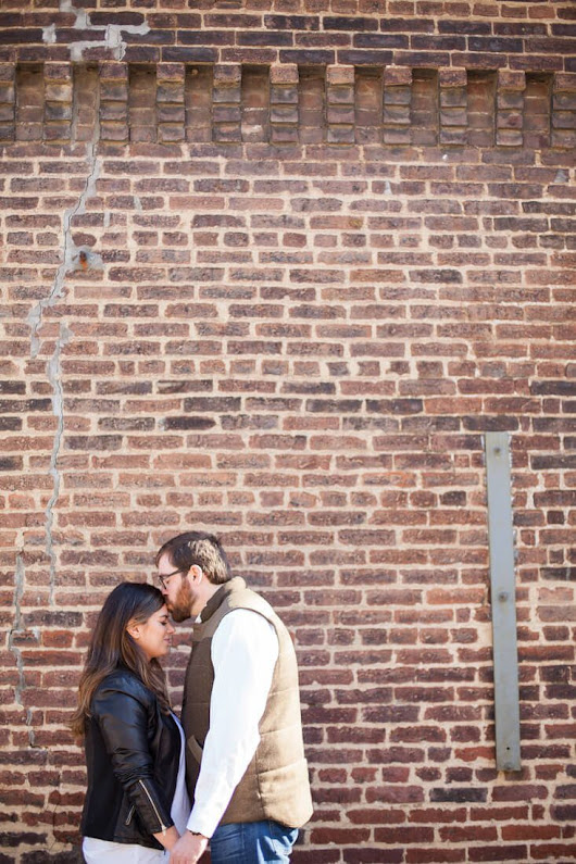 Cassie and Chris' Engagement Session Downtown Nashville / Germantown