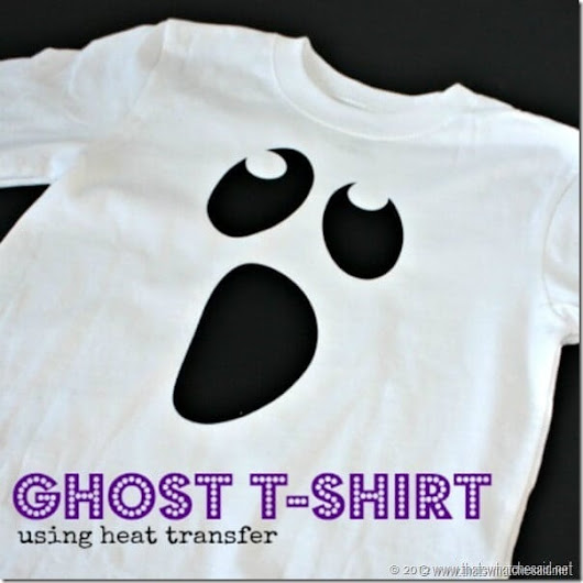 Ghost Shirt | Free Heat Transfer Cut File - That's What {Che} Said...