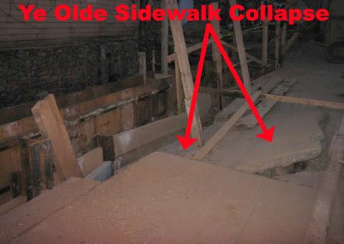 Sidewalk Collapse