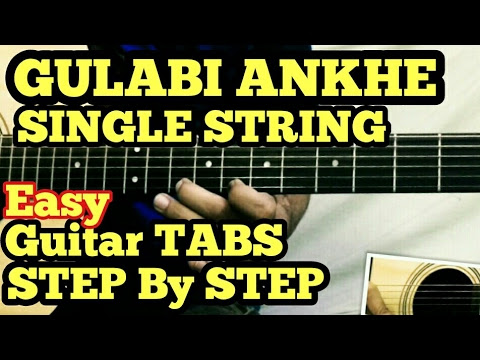 O O JANE JANA GUITAR TABS SINGLE STRING AND MULTISTRING