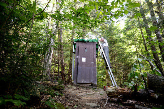 A privy problem: Maine group races to replace outhouses on Appalachian Trail