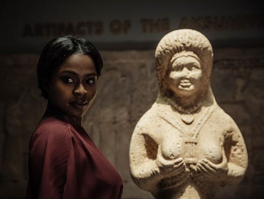 Yetide Badaki co-stars as the love goddess Bilquis,