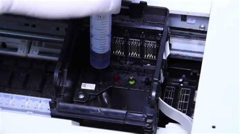 nuevo video de limpieza de cabezales en impresoras de