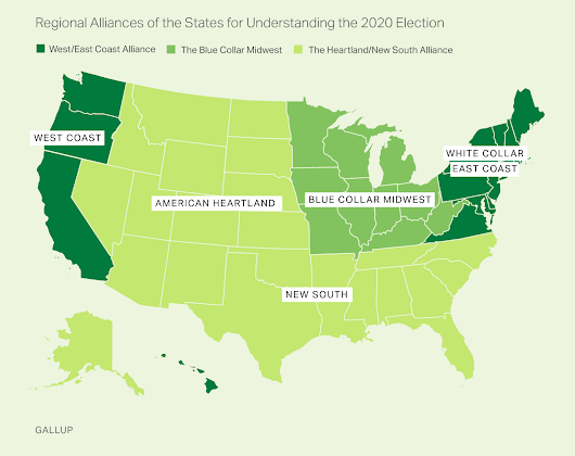 A New Regional Paradigm for Following U.S. Elections