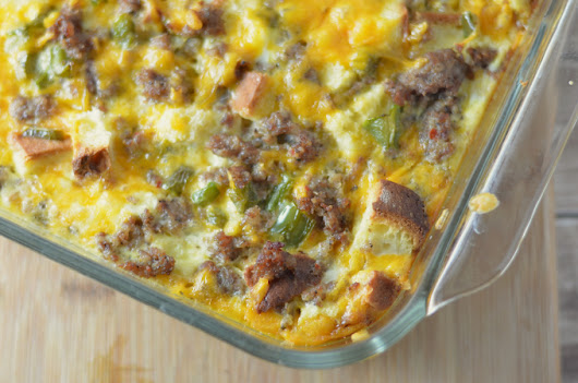 Crazy Easy Gluten Free Breakfast Casserole