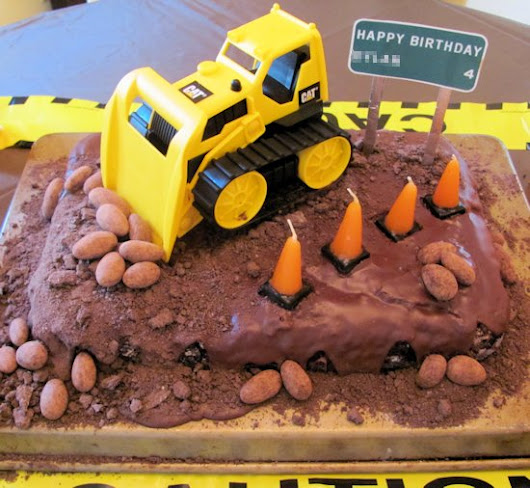 Construction Birthday Party | JenSpends.com