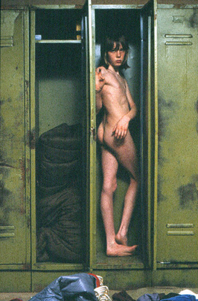 forfranzkafka:  Will McBride - Uli in Locker, Munich 1978