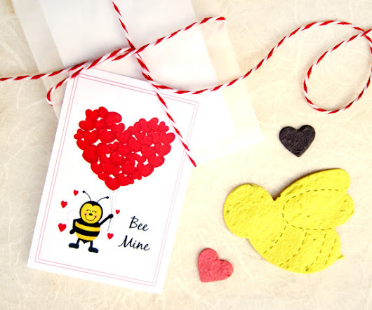 Organic & Eco Classroom Valentines {Allergy Friendly}