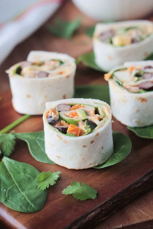 Southwest Roll Ups (Dairy Free) ~ Veggie Inspired