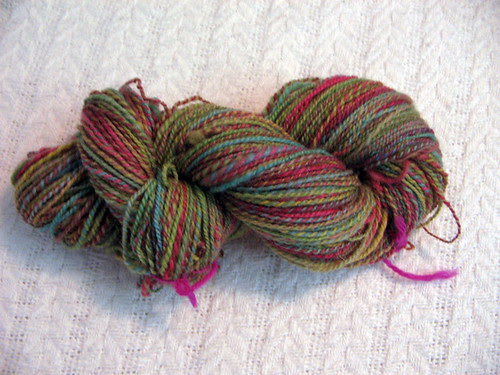 Wilton's dyed handspun