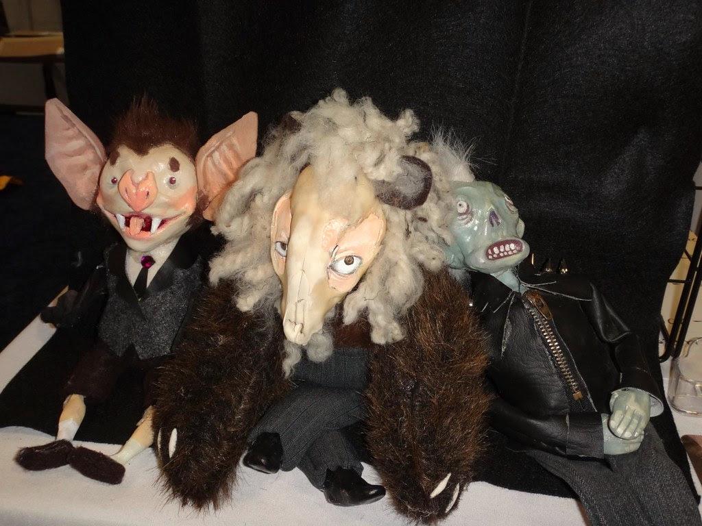 Boston Comic Con 2013 Michelle Roberge bat animal skull doll figure