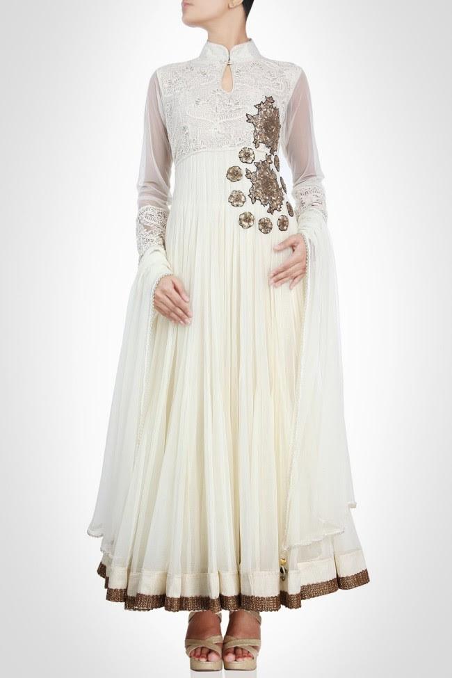 Beautiful-Gorgeous-Wedding-Bridal-Anarkali-Frock-Dresses-for-Girls-Fashion-by-Designer-Kiran-&-Shruti-Aksh-5