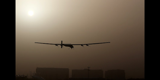 Solar-Powered Plane Embarks On First Fuel-Less Flight Around The World