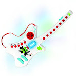 Hamilton Electronics DRMG Do Re Me Electronic Guitar for Early Learners