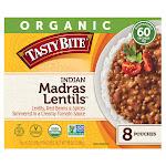 Organic Tasty Bite Madras Lentils, 10 oz, 8-Count