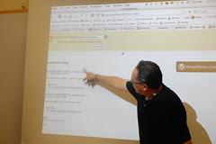 Espinoza muestra herramientas web