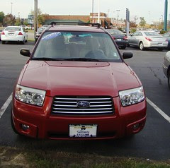 New car front