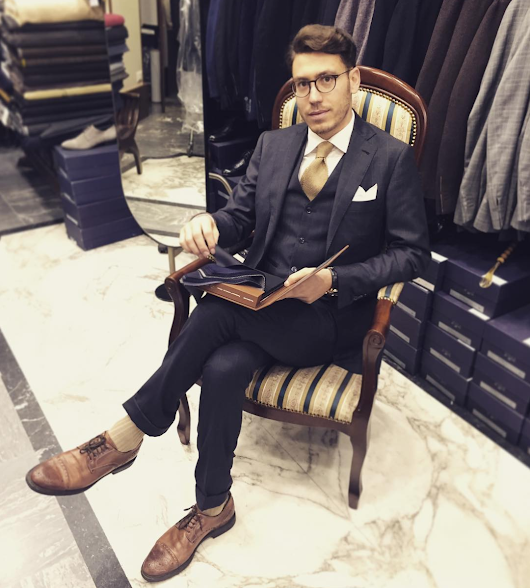 How to Dress Like a True Roman: the Best Tailor in Town | Image Consultant | Roma | A Gentleman in Rome - Personal Shopper