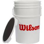 Wilson Empty Ball Bucket with Padded Lid