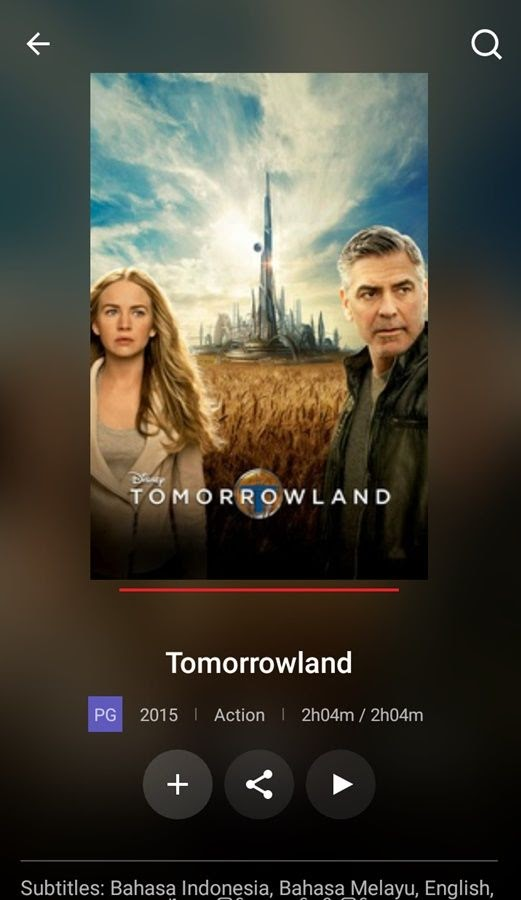Review dan sinopsis Tomorrowland