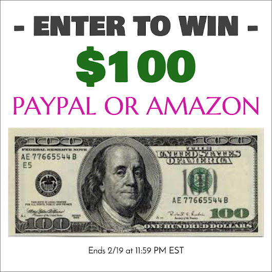$100 Giveaway (Paypal or Amazon) - Domestic Mommyhood