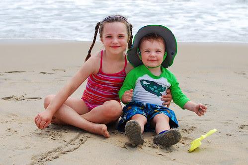 Evy & Brandon on the Beach