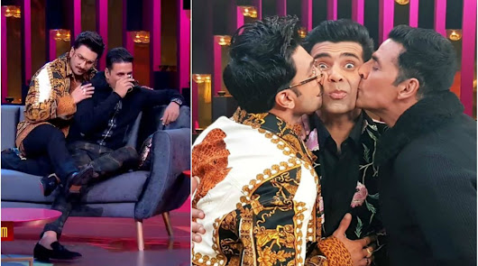Koffee with Karan 6: Ranveer Singh, Akshay Kumar episode promises loads of gossip