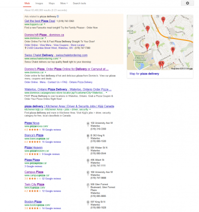 Getting High Rankings in Local Search Results: Part 1 of 3 - Tilted Pixel