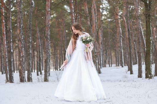 The Whimsical Bridal Gowns For Winter Weddings