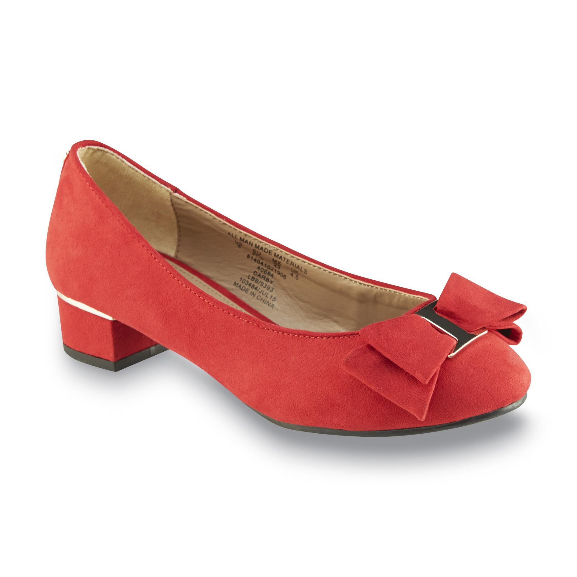 jaclyn smith women's darby red dress shoe  shoes  women