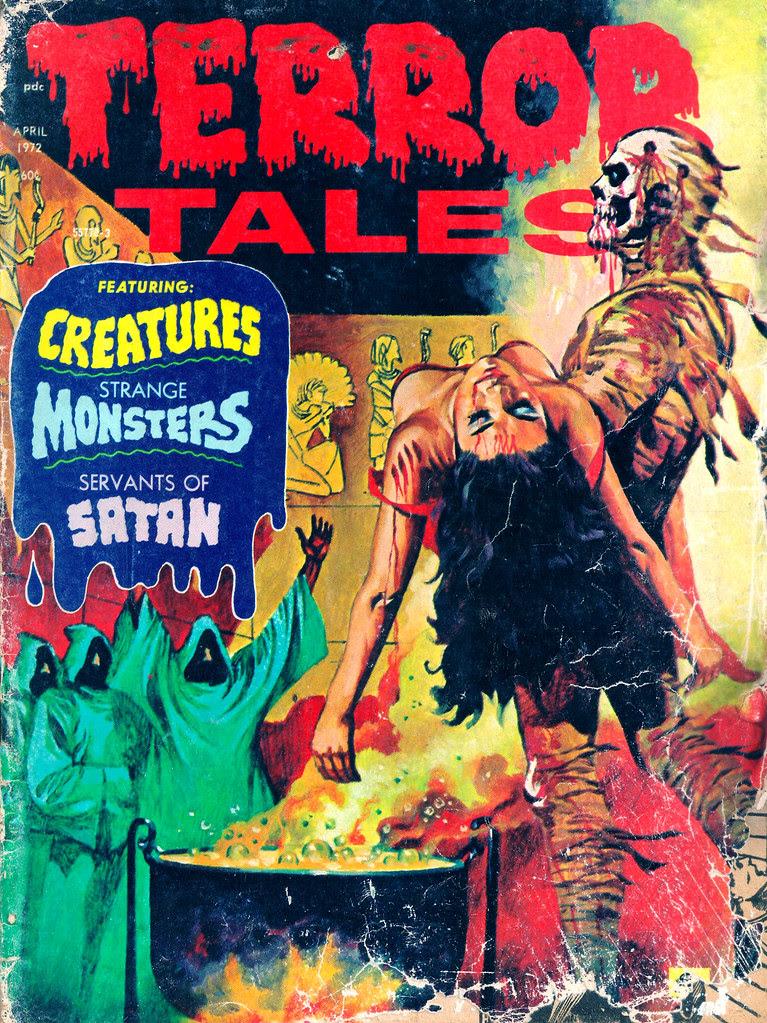 Terror Tales Vol. 04 #3 (Eerie Publications, 1972)