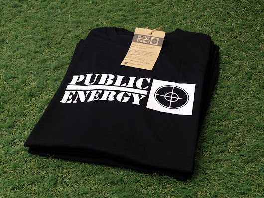 Public Energy T shirts available OVER HERE