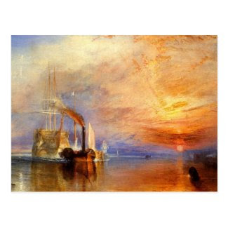 The Fighting Temeraire Post Cards
