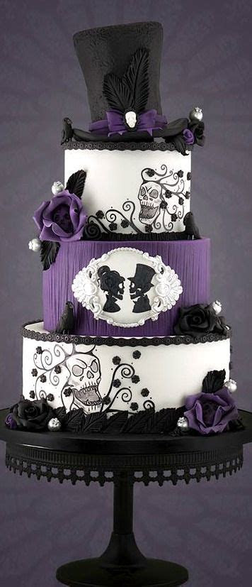 Gothic Wedding Cake   Cakes Beautiful Cakes for the