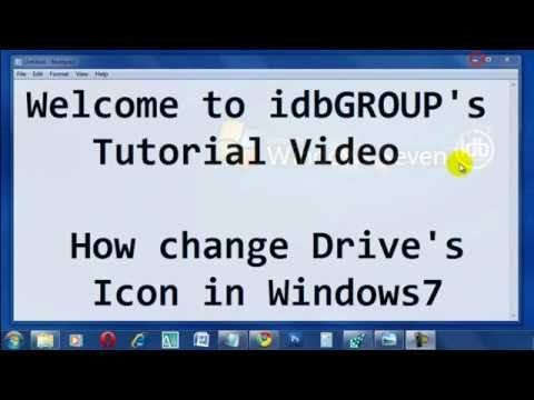 How to Change Drive ICON in Windows 7 (idbGROUP)