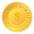 website worth, domain value and website traffic