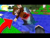KÖPEK BALIĞI FAKİR'i YEDİ! 😱 - Minecraft - DeadPies
