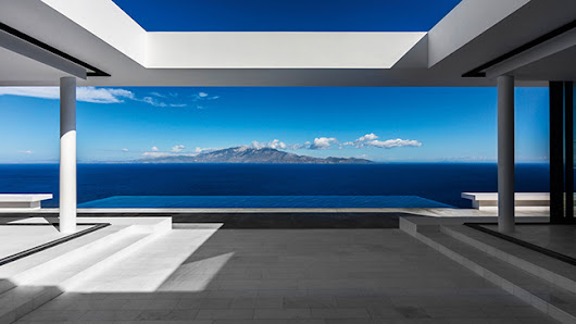 The Silver House in Zakynthos, by Oliver Dwek Architectures