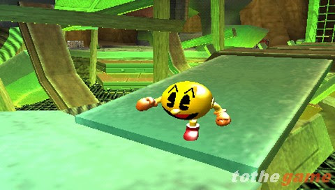 Screenshot of Pac-Man World 3 (PSP)