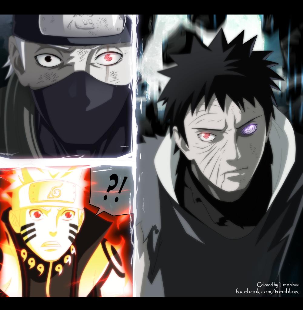 Uchiha is Tobi!! – Obito's Past – Naruto 599  Daily Anime Art
