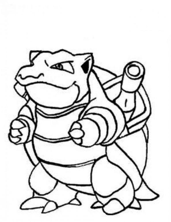 Pokemon Coloring Pages Wartortle At Getdrawingscom Free For