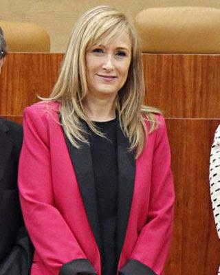 Cristina Cifuentes, delegada del Gobierno en Madrid.