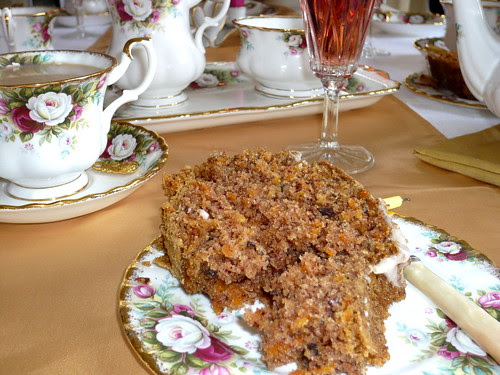 Carrot cake for tea