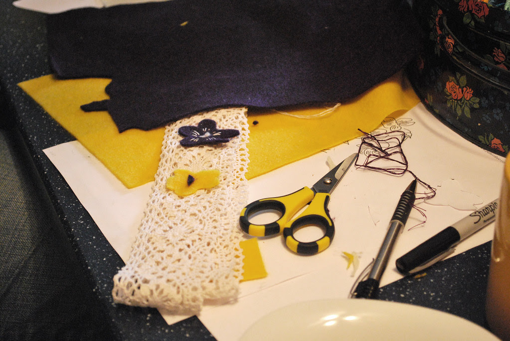 catherine's charm cuff in the works...